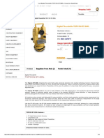 Jual Digital Theodolite TOPCON DT-205L _ Harga Dan Spesifikasi