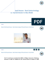 About Prof.dr.Iyad Hassan - Best Endocrinology & Thyroid Doctor in Abu Dhabi