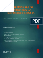Competition and the Performance of Microfinance Institutions