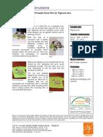 Application Instructions - FiberPrint