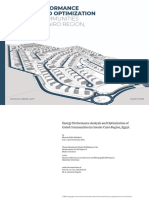 Energy Performance Analysis and Optimization of Gated Communities in GCR, Egypt.
