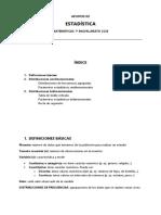 Apuntes Estadística 1º bachillerato Ciencias Sociales