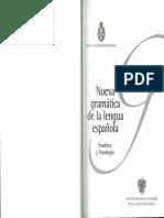 Nueva Gramática de la Legua Española - Fonética y Fonología - Cap. 1