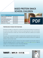 Protein-rich Foods for Your Kids