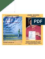 LEARN SUCCESS FORMULA