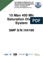 304_15 Man 450 Mtr Saturation Diving System Rev 2-0909