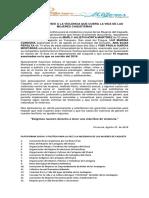 Pronunciamiento Plataforma de Mujeres Caqueta_rev
