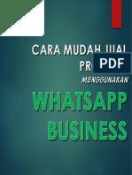group wa bisnis 2018