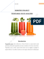 51. Analysis of Vegetable and Fruit Juices