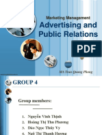 Advertising Public Relations Session 3