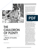 The Couldron of Plenty