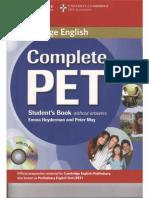 Cambridge English Complete Pet Student s Book 2014