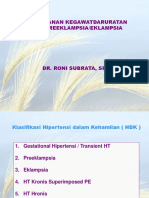 4. Preeklampsia - Eclampsia