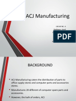 Acj Manufacturing - Presentation