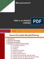 T7 MACII. Modelo de Mundell - Fleming