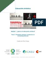 Educación Artística por Claudia del Pilar