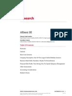Allianz SE Research
