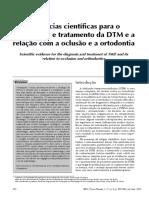 DTM e a relação com a oclusão e a ortodontia.pdf