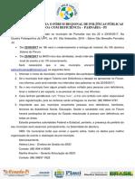 Carta Convite - Parnaiba