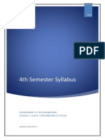 CE 4Sem Syllabus
