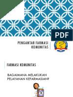 1.Pengantar Farmasi Komunitas
