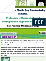 Biodegradable Plastic Bag Manufacturing Industry