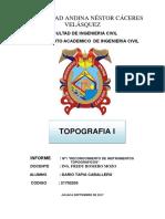 Informe Topo II