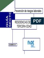 Guía Sectorial. Residencias Tercera Edad