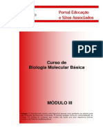 Curso de BIOLOGIA MOLECULAR básica do Portal Educação  - MÓDULO III.pdf