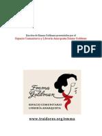 Emma Goldman - Francisco Ferrer y la Escuela Moderna