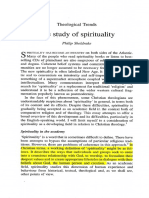 The Study of Spirituality Philip Sheldrake Annotated A