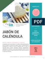 Jabon de Manzanilla