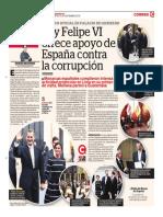 Rey Felipe VI Ofrece Apoyo de España Contra La Corrupción