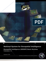 Geospatial Intelligence (Geoint) Basic Doctrine
