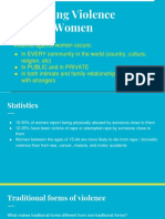 combating violence against women