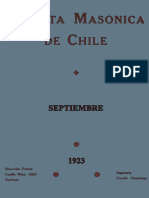 Revista masónica de Chile