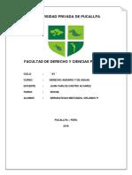 El Orden Público Internacional Original