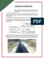 Aplicaciones de La Hidrologia
