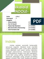 Alkaloid Indole_ Kel 7_3 Fa 1