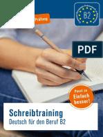 Probekapitel Schreibtraining Deutsch Fuer Den Beruf b2