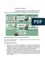 Subcontratación en SAP ECC 6.0