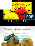 Suicide & Reasons