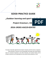 Good Practice Guide, Outdoor Learning and Sport Activities
