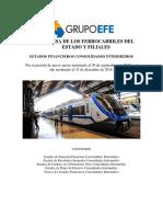 Estados Financieros de EFE y Filiales Septiembre 2017
