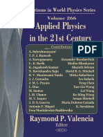 Applied Physics in the 21