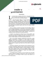 La Jornada_ Aprender a gobernarnos.pdf