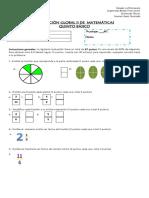 Prueba Global de Matemáticas II Semestre