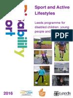 Leeds Disability Sport Programme 2016
