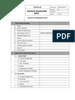 2. Formulir Biodata Mahasiswa Baru