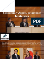 Carlos Luis Michel Fumero - Colombia y Japón, Relaciones Bilaterales